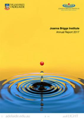 2017 JBI Annual Report cover